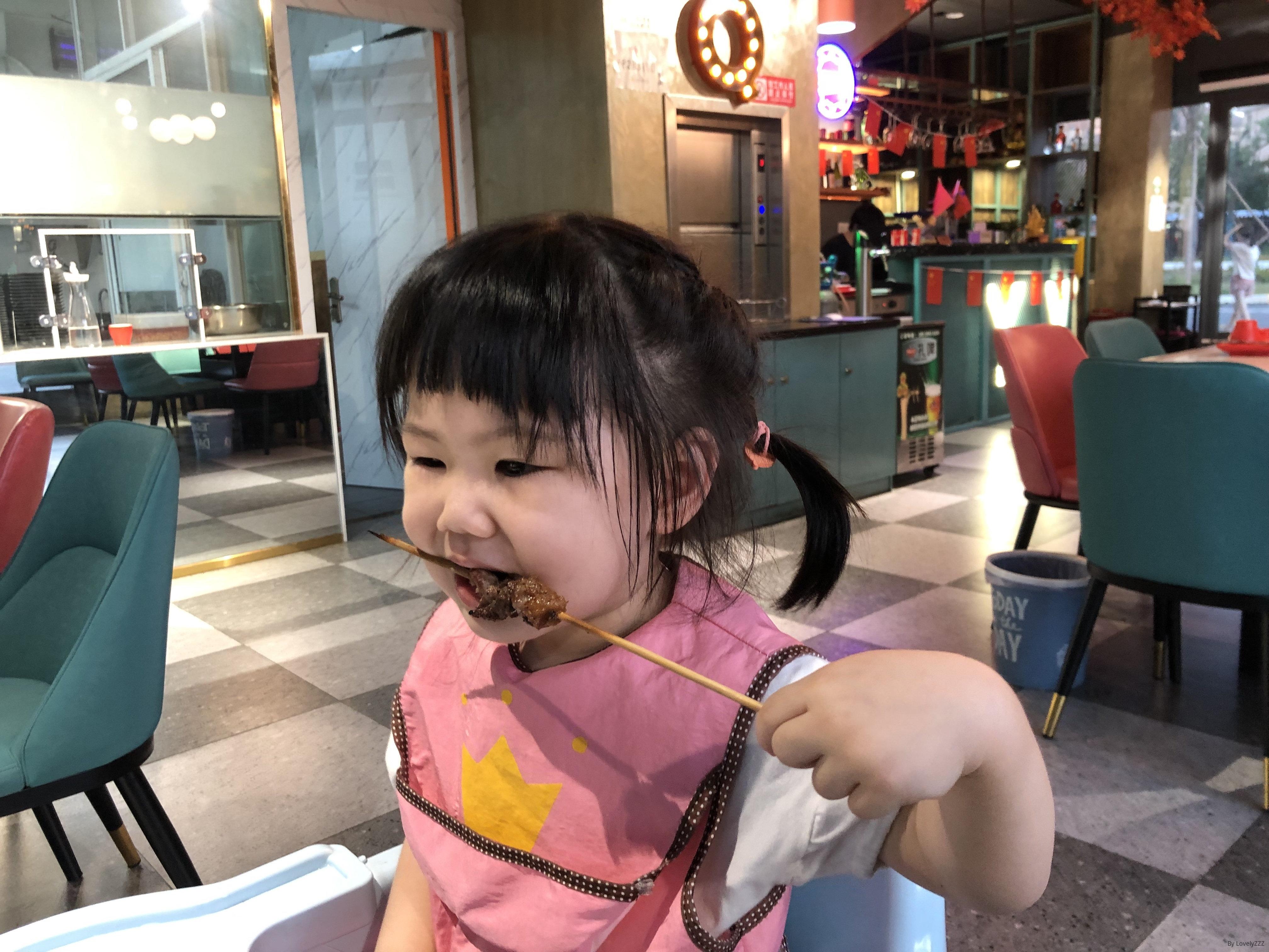 吃肉串的mia